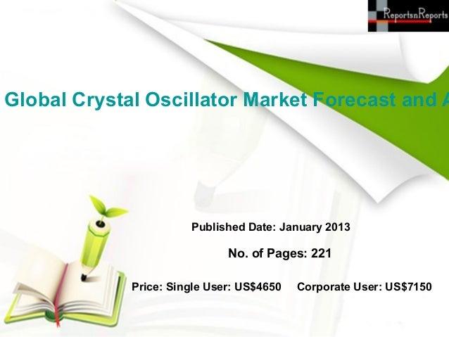 Global crystal oscillator market forecast and analysis