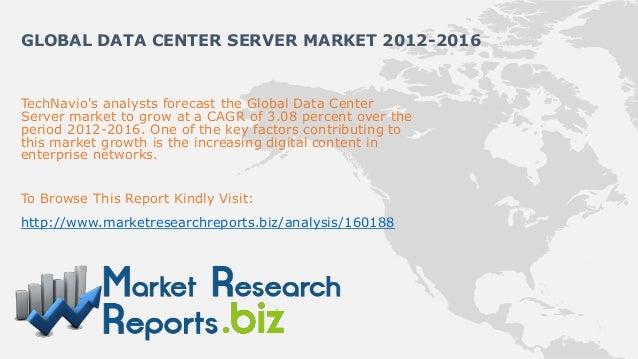 Global data center server market 2012 2016