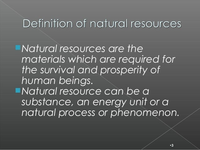 depletion of natural resources Read chapter 3 depletion of mineral resources: mineral resources and sustainability: challenges for earth scientists.