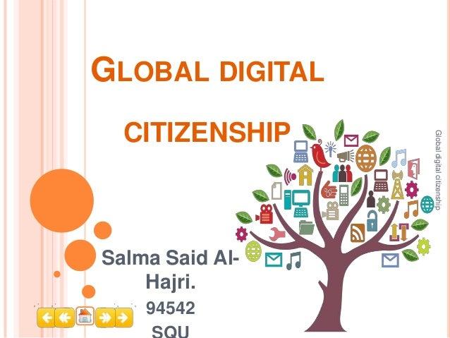 Global digital citizenship
