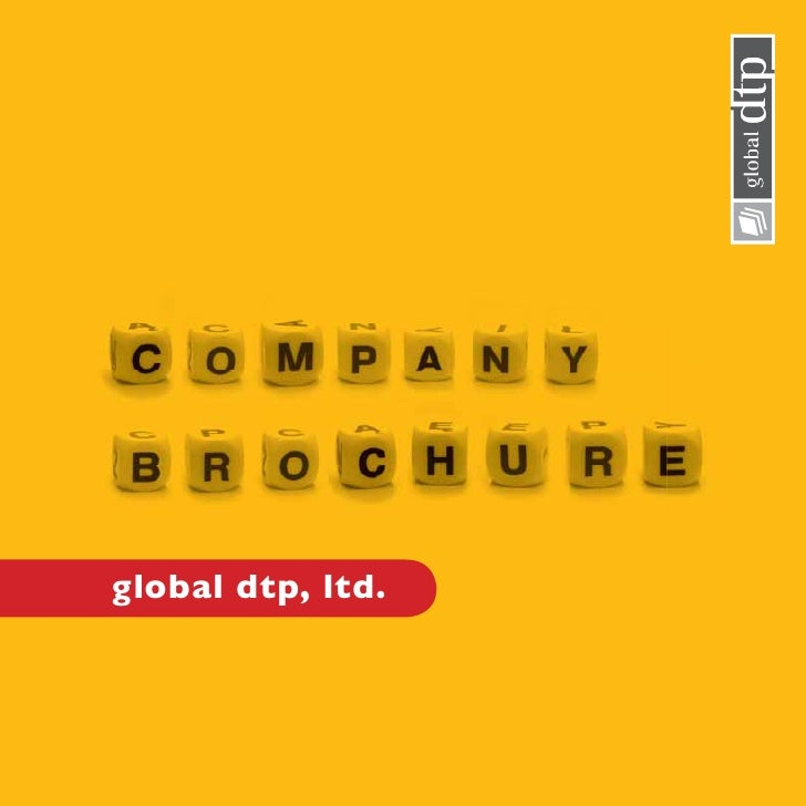 Global Dtp Company Brochure
