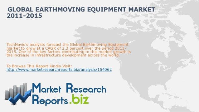 Global earthmoving equipment market 2011 2015