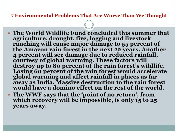 problems in the world today essay An environmental problems essay must also writing an essay on environment would environment essays establish the connection between man and the outside world.