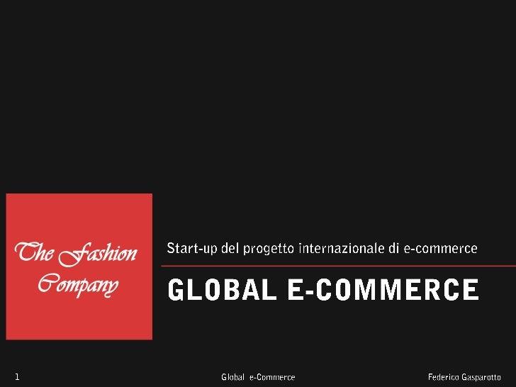 Pianificazione strategica per la creazione di un Global E-Commerce