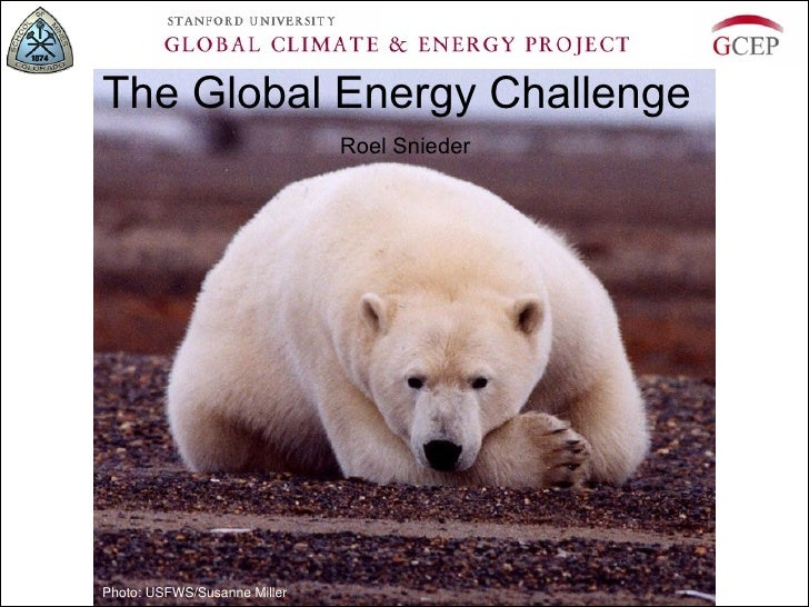 The Global Energy Challenge                              Roel SniederPhoto: USFWS/Susanne Miller