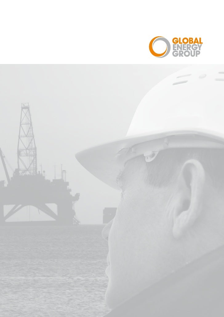Global Energy Group Corporate Brochure