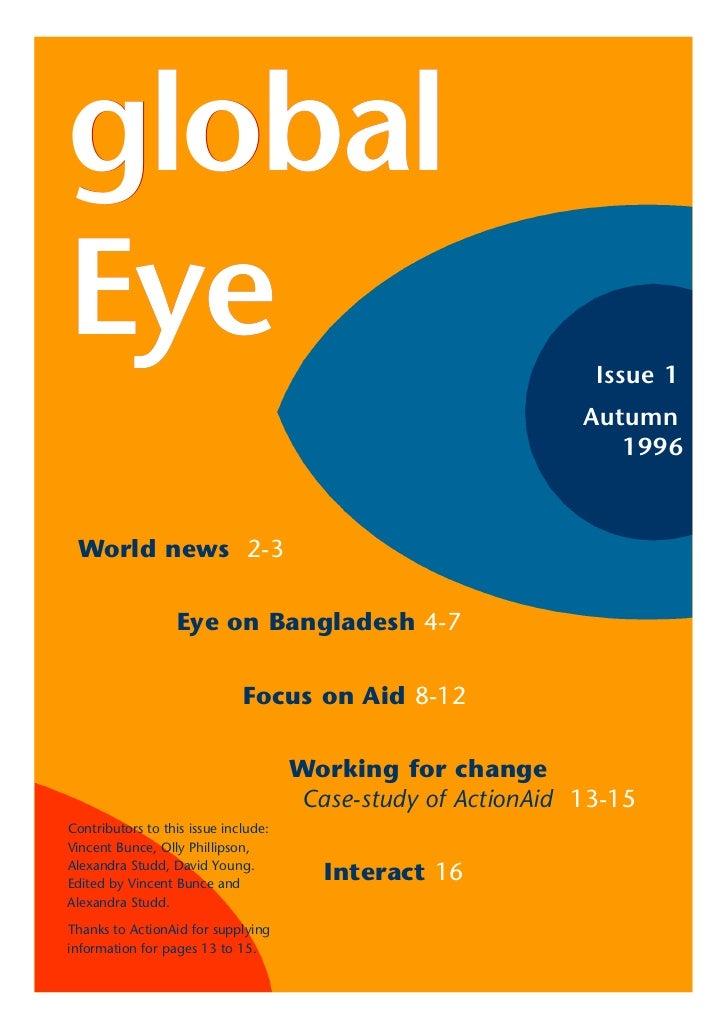 globalEye                                                             Issue 1                                             ...