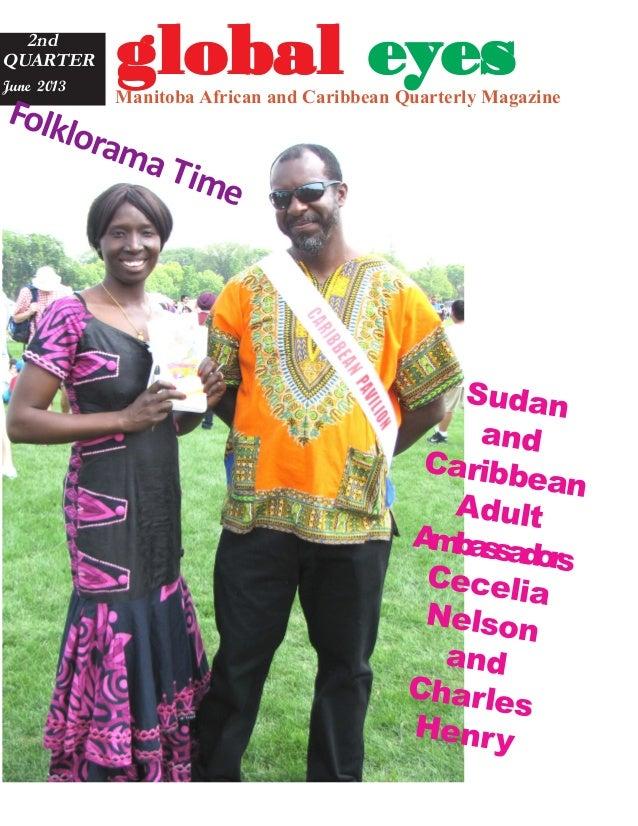 Global eyes magazine   Summer Edition 2013