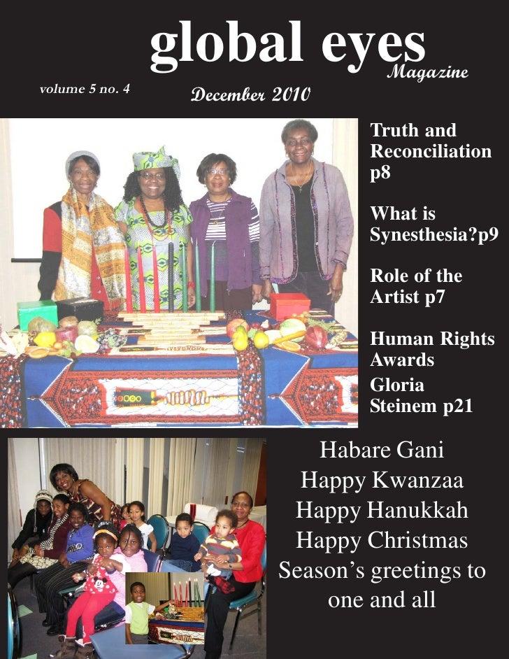 Global eyes magazine december 2010a