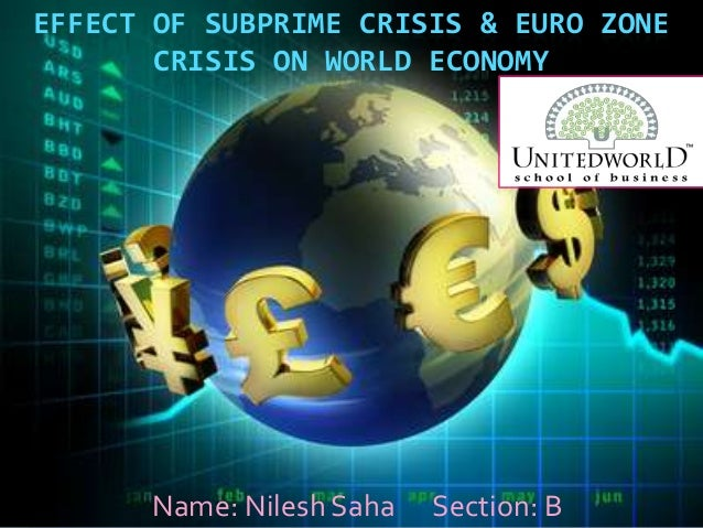 Presentation Global financial crisis