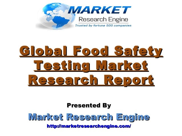 global food safety testing market outlook Further, this market is forecasted to grow at a cagr of around 8% during 2017-2021 in the latest research report global food safety testing market outlook 2021, the analysts have studied the global food safety testing market in terms of contaminants and technology.