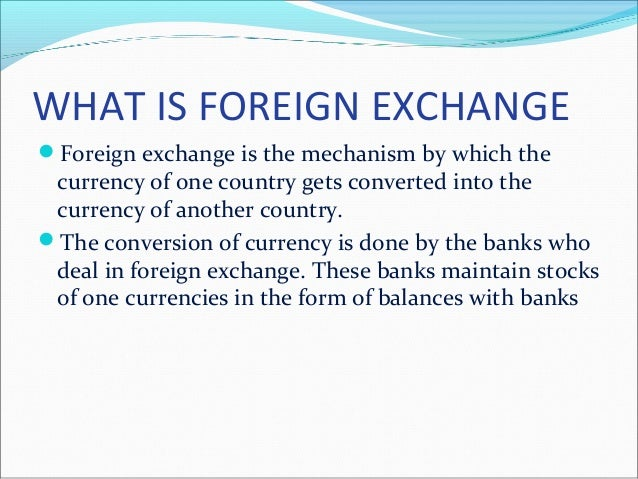 Foreign Exchange Exposure What is it and How it Affects the ...