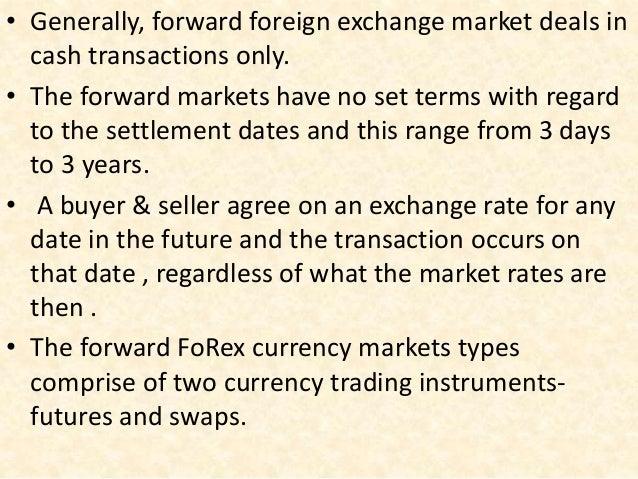 Forex markets- spot forward future options & swaps