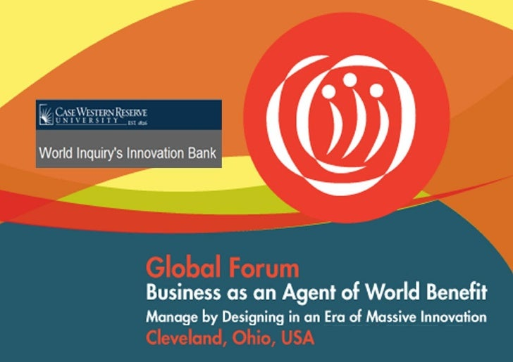 Global Forum Business As Agent Of World Benefits