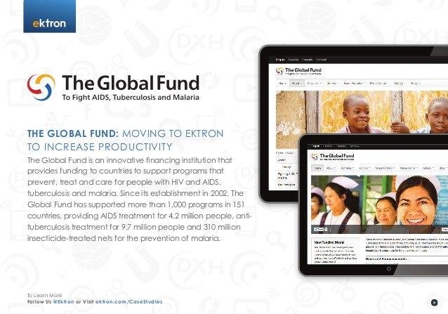 The Global Fund: Moving to Ektron to Increase Productivity