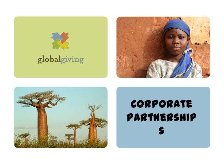 CorporatePartnership     s
