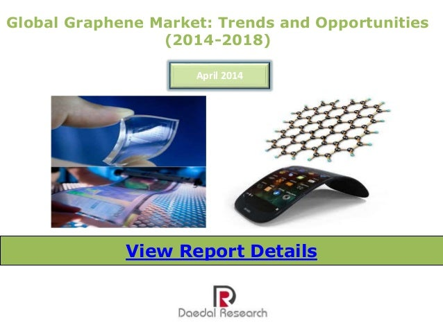 Global Graphene Market: Trends and Opportunities (2014-2018) April 2014 View Report Details