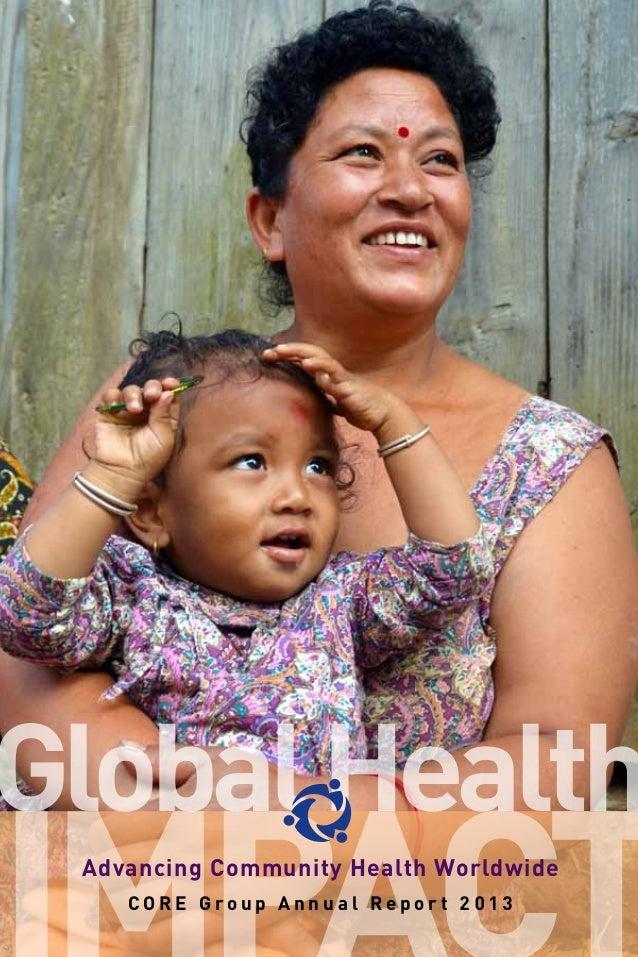 Global health - advancing community health worldwide