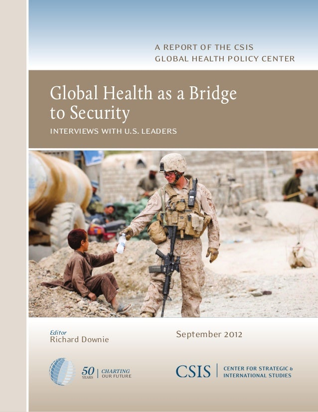 a report of the csis                                                                        global health policy center   ...