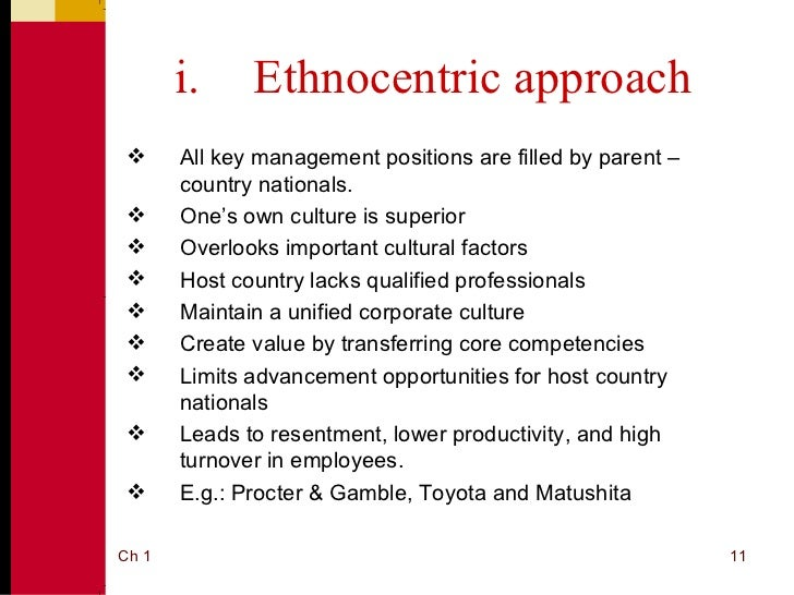 regiocentric approach to international human resource Wick- ham [2006 , p 349] distinguishes three strands of strategy definitions, namely: the size and the strategic international orientation: the use of eprg model among polish family and non-family firms 145 •• the first mainstream relates to the content of the business strategy of the firm, •• the second mainstream recognizes the strategy as a.