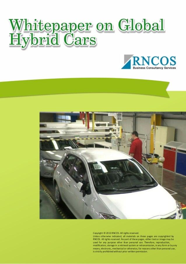 Global Hybrid Cars - Sep'13