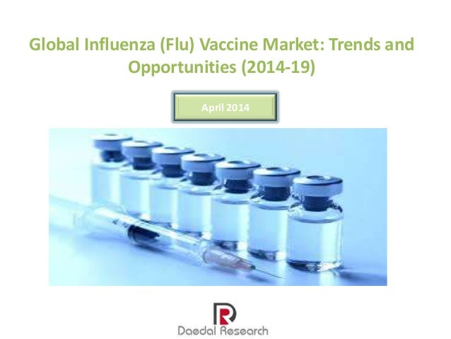 Global Influenza (Flu) Vaccine Market: Trends & Opportunities (2014-19) – New Report by Daedal Research