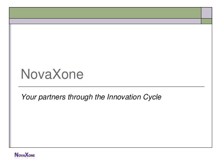 Global innovation process   novaxone