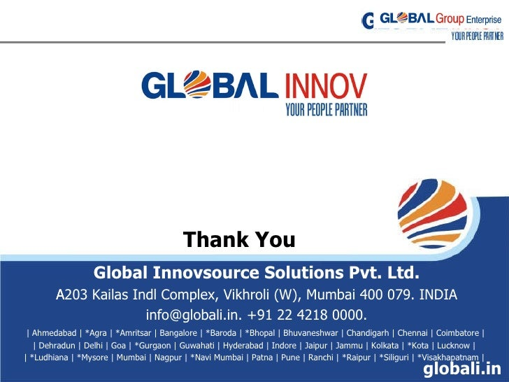 Global Innov Staffing Ppt
