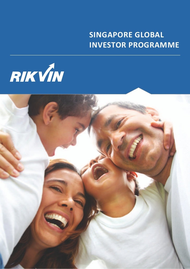 Global investor programme in singapore