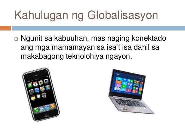 mabuting epekto ng globalisasyon