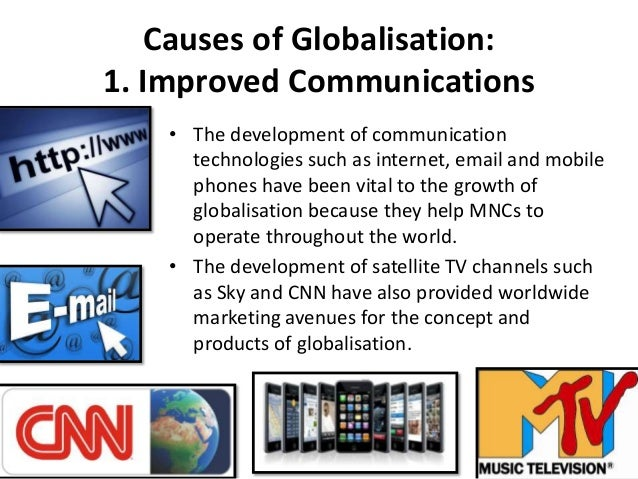 Causes of globalization essay