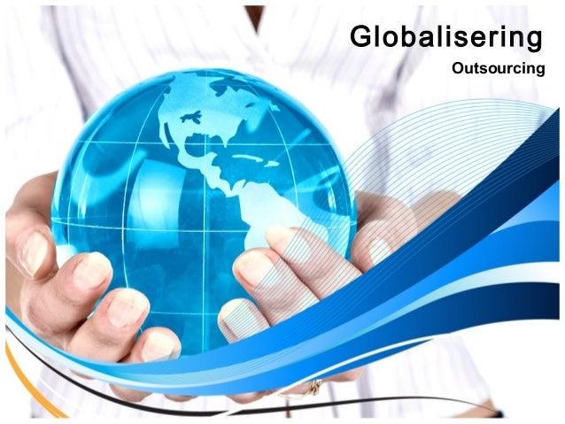 Globalisering Outsourcing