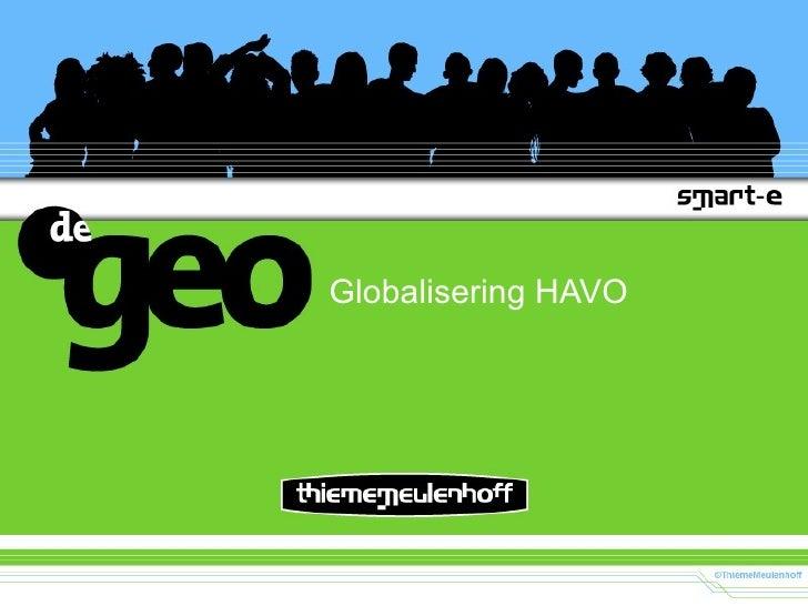 Globalisering HAVO