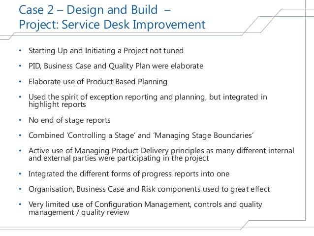 service desk improvement plans