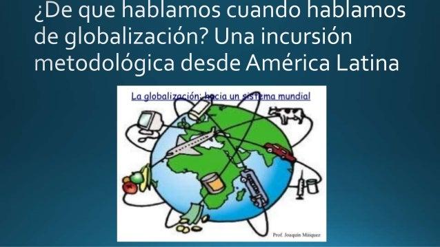 -El libre intercambio, como factor de desarrollo no sólo del comercio sino también de la sociedad como un todo. -La mundia...