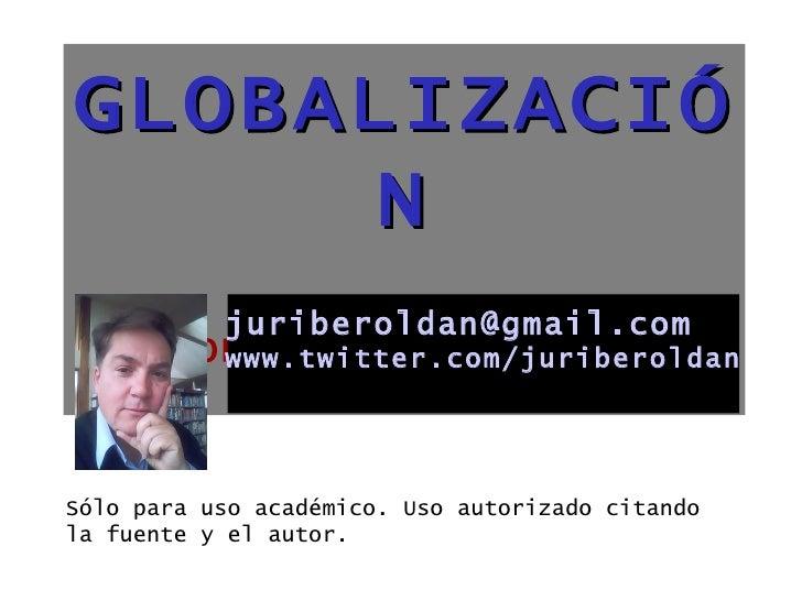 GlobalizacióN 2004 2008