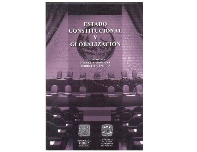 Globalización, constitucionalismo
