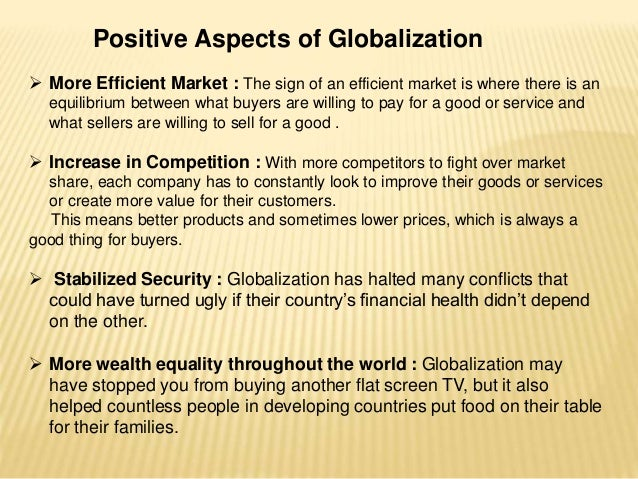 negative effect of globalization essay example They read the essays on globalization and negative effects while globalization is thought of by example, world music.