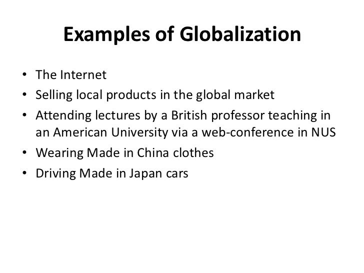 how has the globalization of markets Image via wikipedia globalization, the increasing integration and interdependence of domestic and overseas markets, has three sides: the good side, the bad side, and the ugly side.