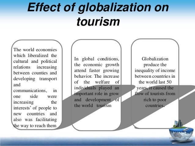 the specific effects of globalization throughout Globalization and its economic social political and cultural impact submitted by: fathima mehlika tata institute of social sciences academic year: 2013-15 introduction: 1 globalization is a complex and multifaceted phenomenon.