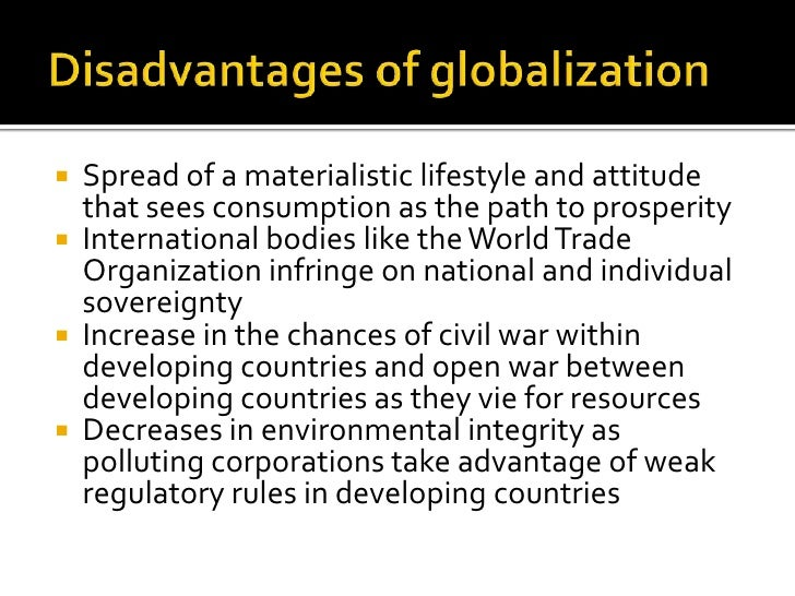 essay on globalization advantages and disadvantages This article explores the advantages and disadvantages of globalization find out the benefits and risks of a unified global economy.