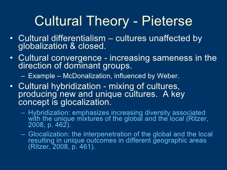 Globalization effects on culture essay papers