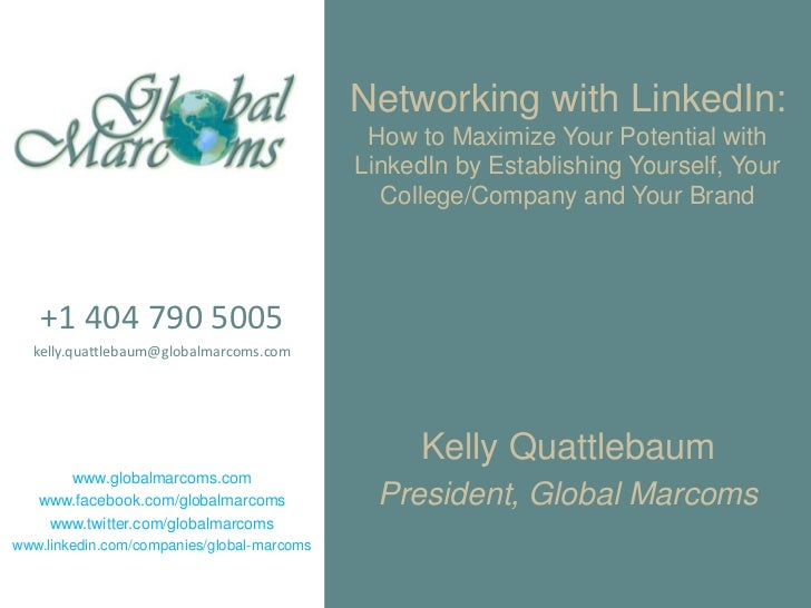 GACE: Networking with LinkedIn