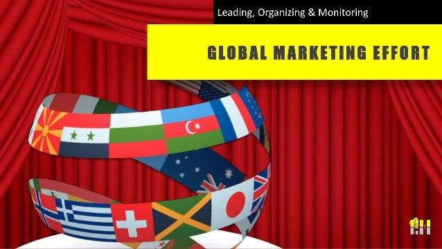 Global Marketing Effort