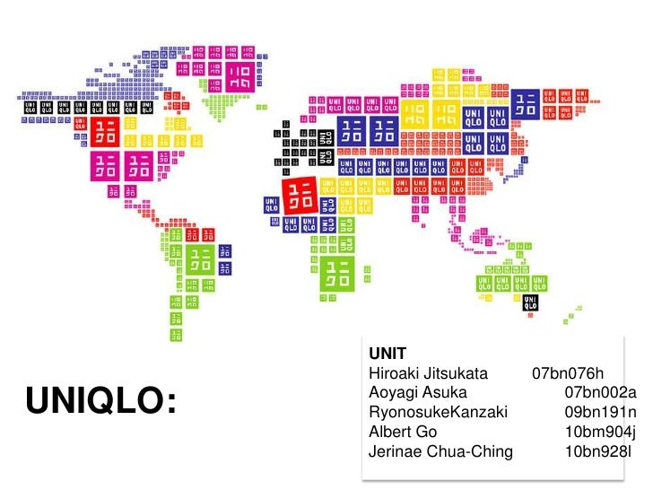 Global Marketing UNIQLO