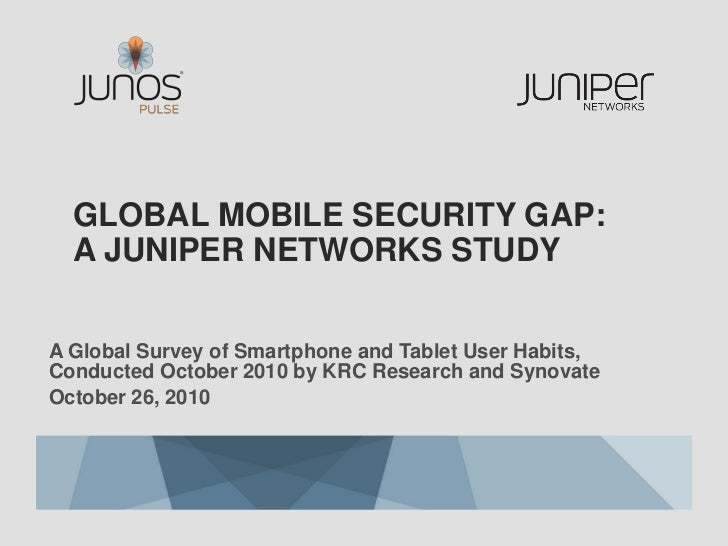 The Global Mobile Security Gap