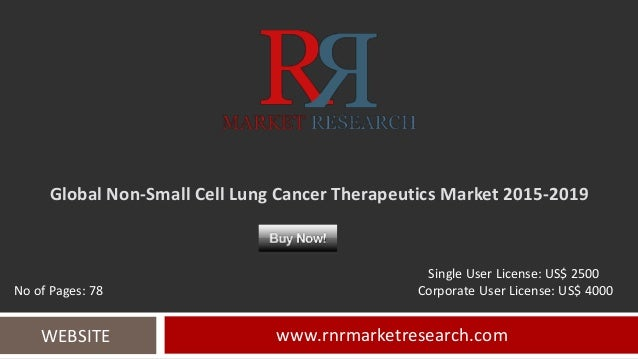 global non small cell lung cancer market Cancer is the disease in which cell grows abnormally and may cause a tumor in  lung cancer, the cells of lungs starts to grow in uncontrolled.