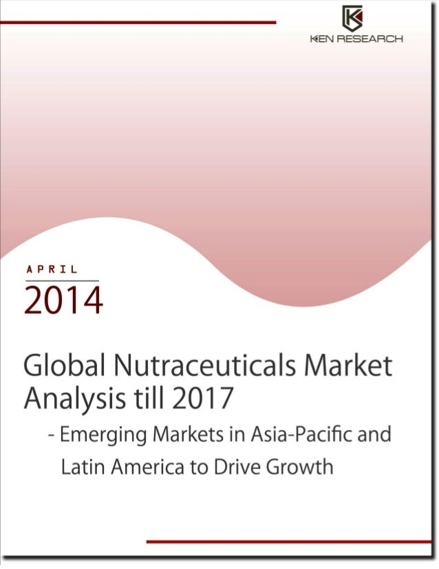 Global nutraceuticals industry analysis till 2017 executive sum
