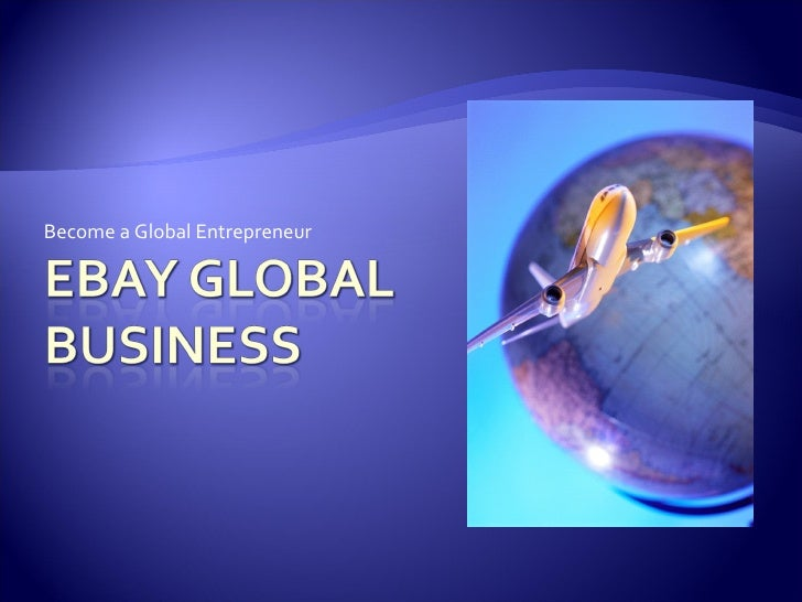 Become a Global Entrepreneur