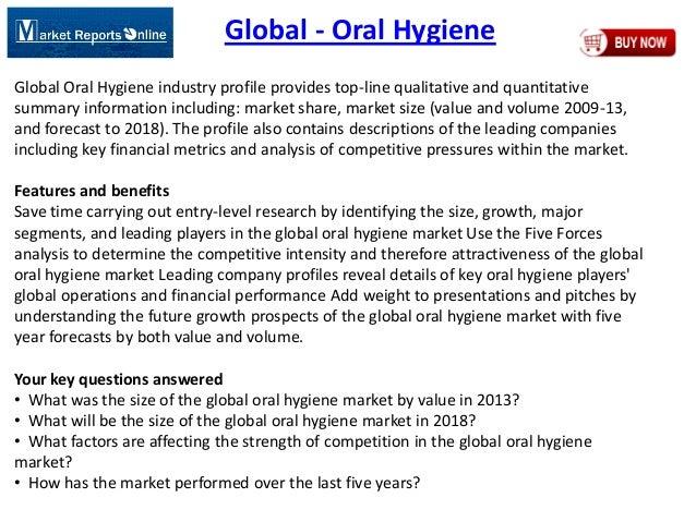 Global Oral Hygiene Market 2018 Forecasts
